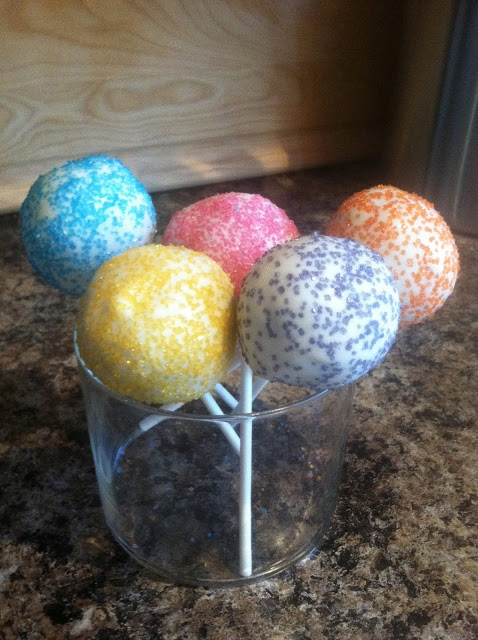Adventures in Cake Popping – My Pops