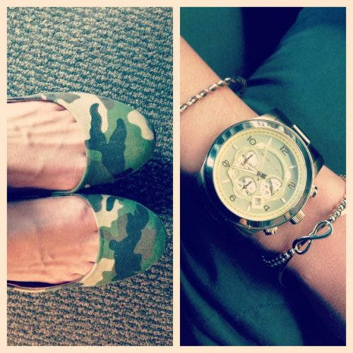 Camo, Gold & Anything Bold
