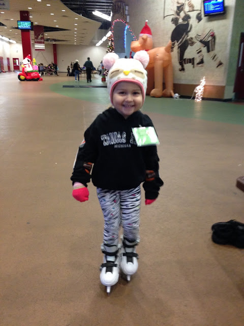 """Ice Skating Lessons & Our """"Future Goalie"""""""